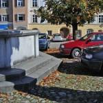 Stadtplatz in Tittmoning zugeparkt