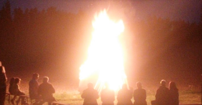 Lagerfeuer Sommerfest